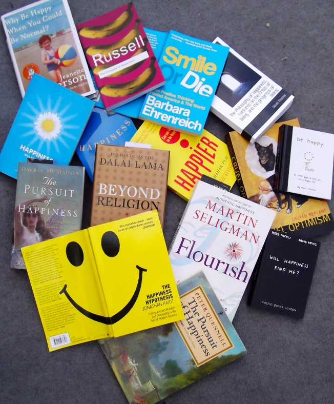 Happiness Books spread