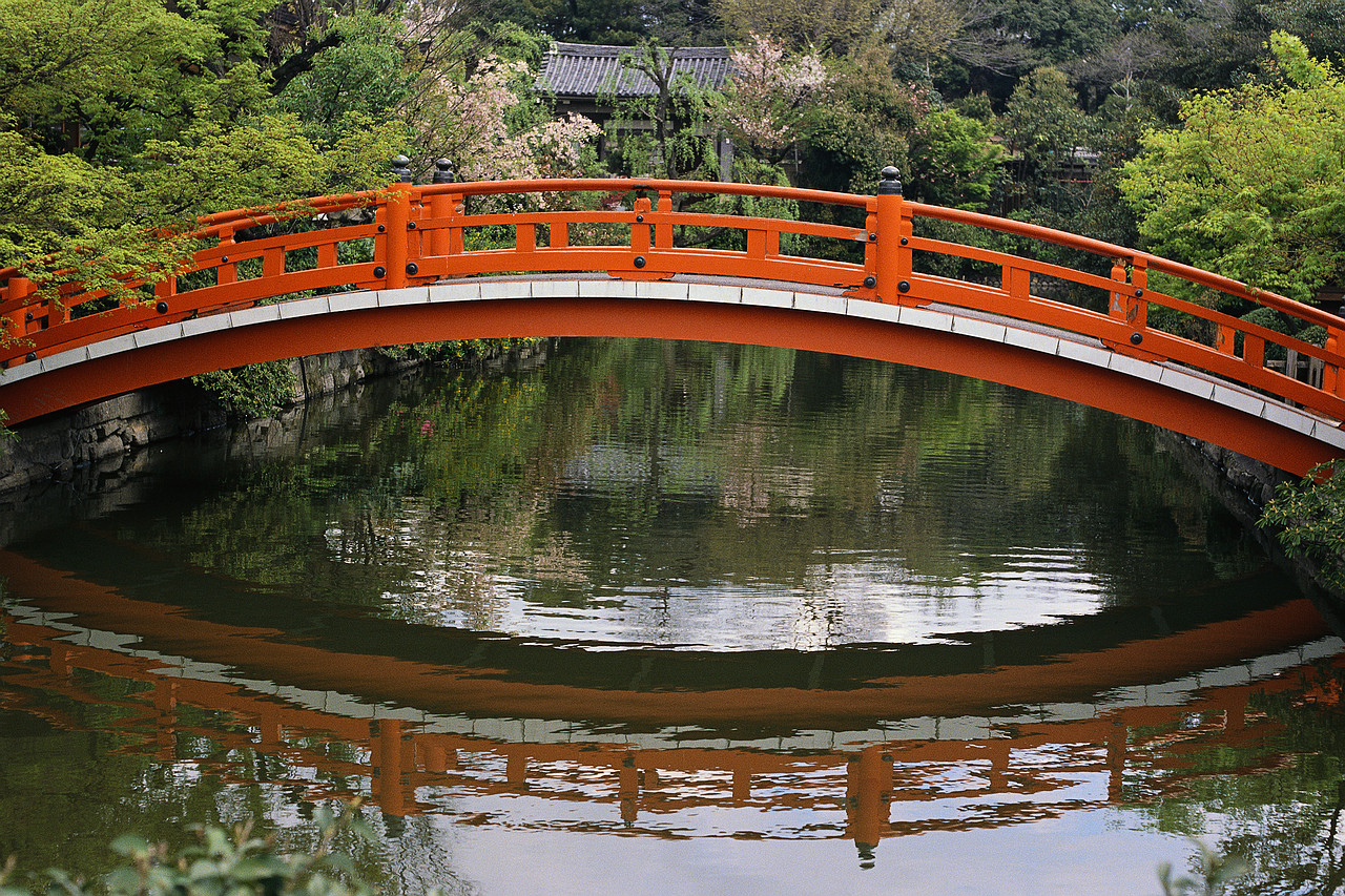 Red Japanese Garden Bridge Design Home Design Ideas