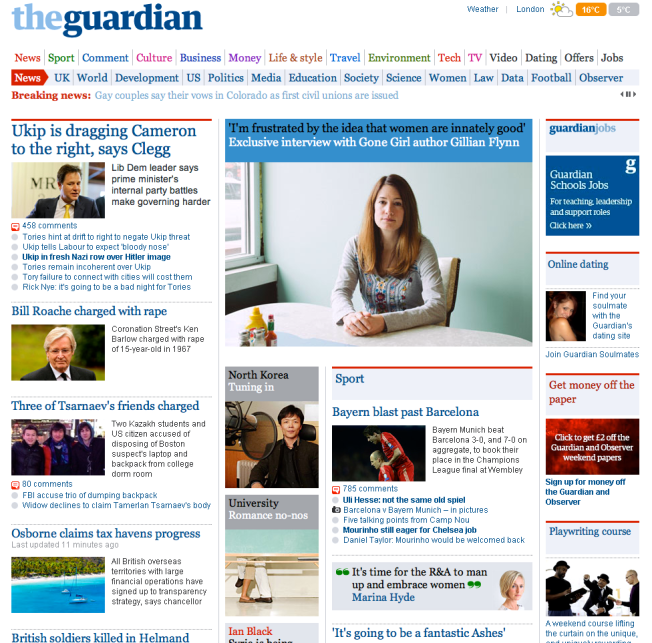 Guardian Screen Shot 2 May