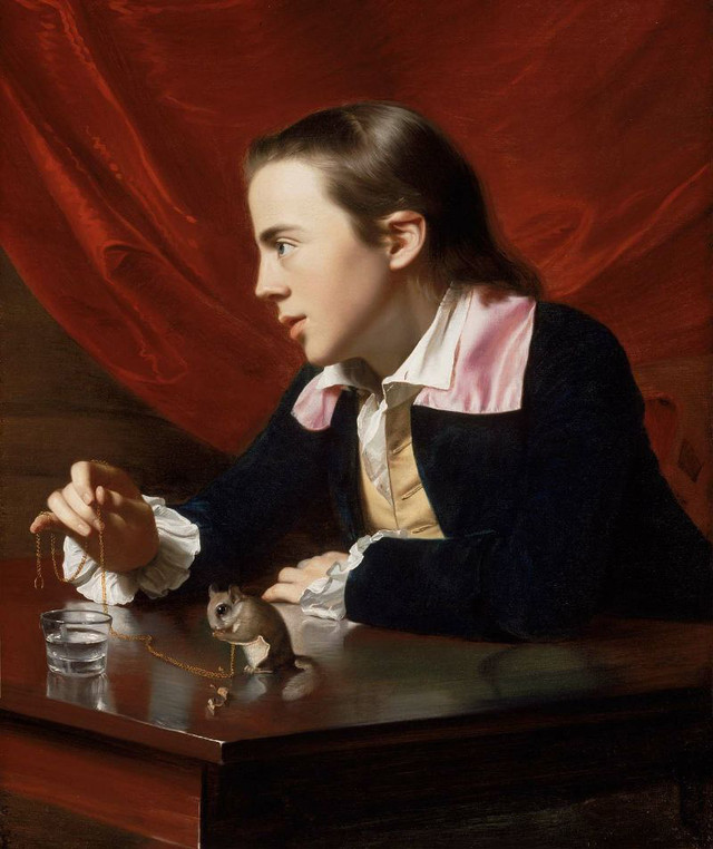 John Singleton Copley: Boy with a Squirrel
