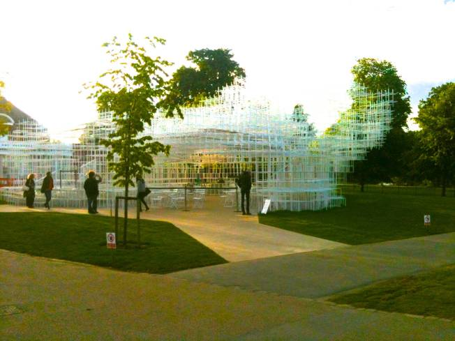 Serpentine Gallery Pavilion 2013 Designed by Sou Fujimoto  Photo by: Mark Trezona