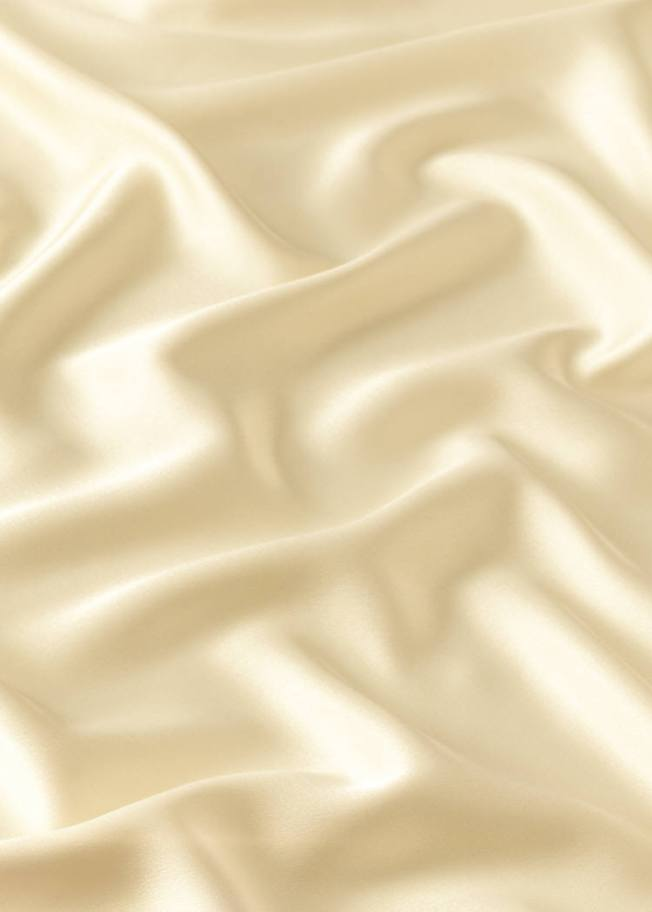 quiet - cream satin