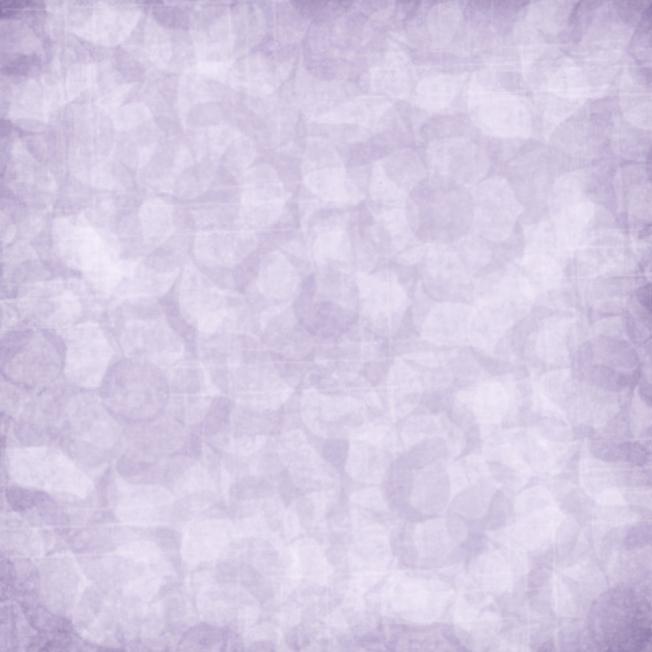 quiet - soft focus purple floral print