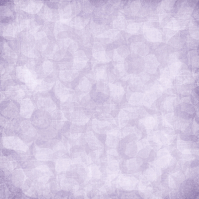 quiet - soft focus purple floral print