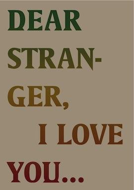rajni glorious - Dear Stranger, I Love You