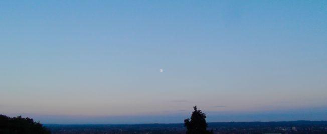 Moon Over South London Photo: Mark Trezona