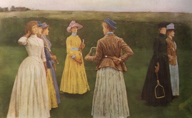 http://commons.wikimedia.org/wiki/File:Khnopff_Memories.jpg