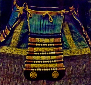 samurai armour (detail)