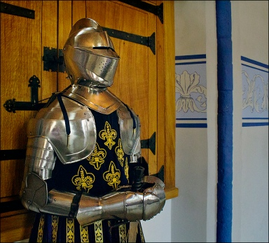 suit of french armour