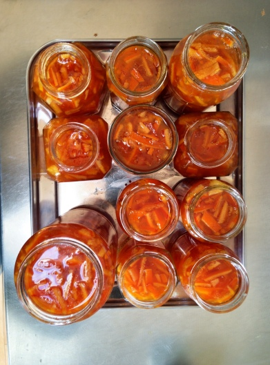 photo by Sue Ridge successful marmalade 1