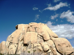 Free Soloing at Joshua Tree