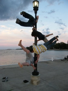 Pole Hanging