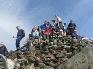 Snowdon Summit (mind the step!)