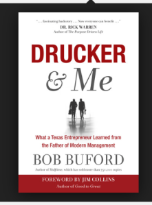 Drucker & Me by Bob Buford