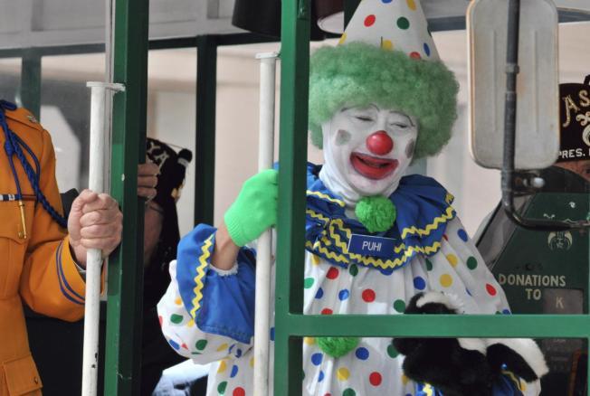 clown commuter