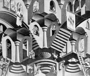 Concave and Convex (Escher)