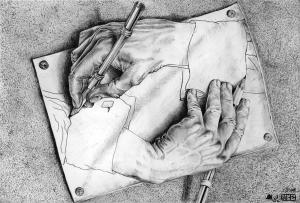 Drawing Hands (Escher)