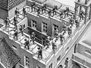 Salita e Diocesa (Escher)