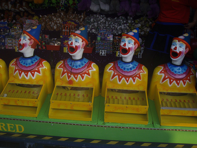 feed the clowns