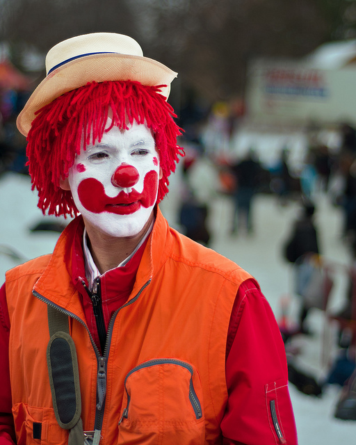 what do clowns think about?