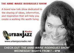 The Anne-Marie Rodriguez Show, urban jazz radio