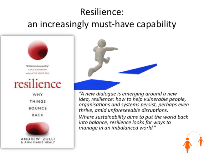 Resilience - an increasingly must-have skillset