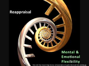Using Cognitive Reappraisal to Increase mental & emotional flexibility