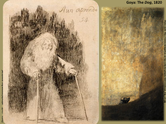 "Goya: ""Aun Aprendo"" (I am still learning)"