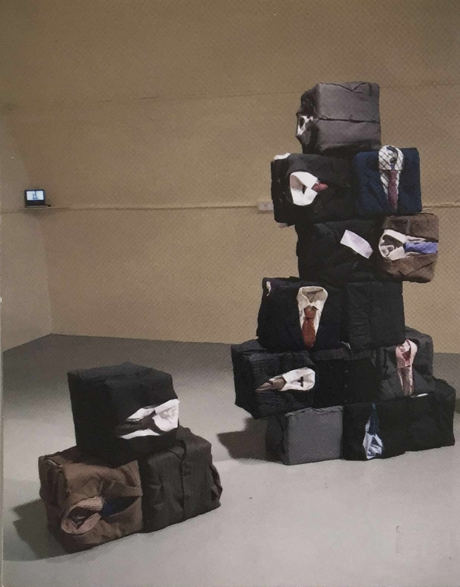 Untitled (Alice Cunningham, installation and performance 2009)